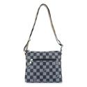 Bolso Bandolera pequeño mujer en lona color azul-Chess