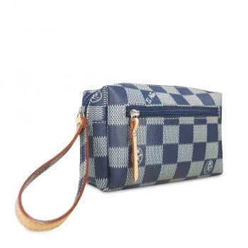 Bolsa de mano chess azul-El Potro