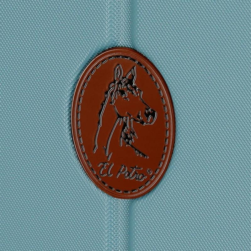 Maleta Mediana rígida unisex en abs color azul - Ocuri