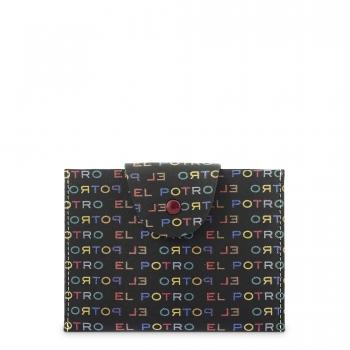 Funda correilla broche para mascarilla negro multicolor-El Potro