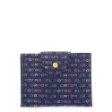 Funda solapa broche para mascarilla azul multicolor-El Potro