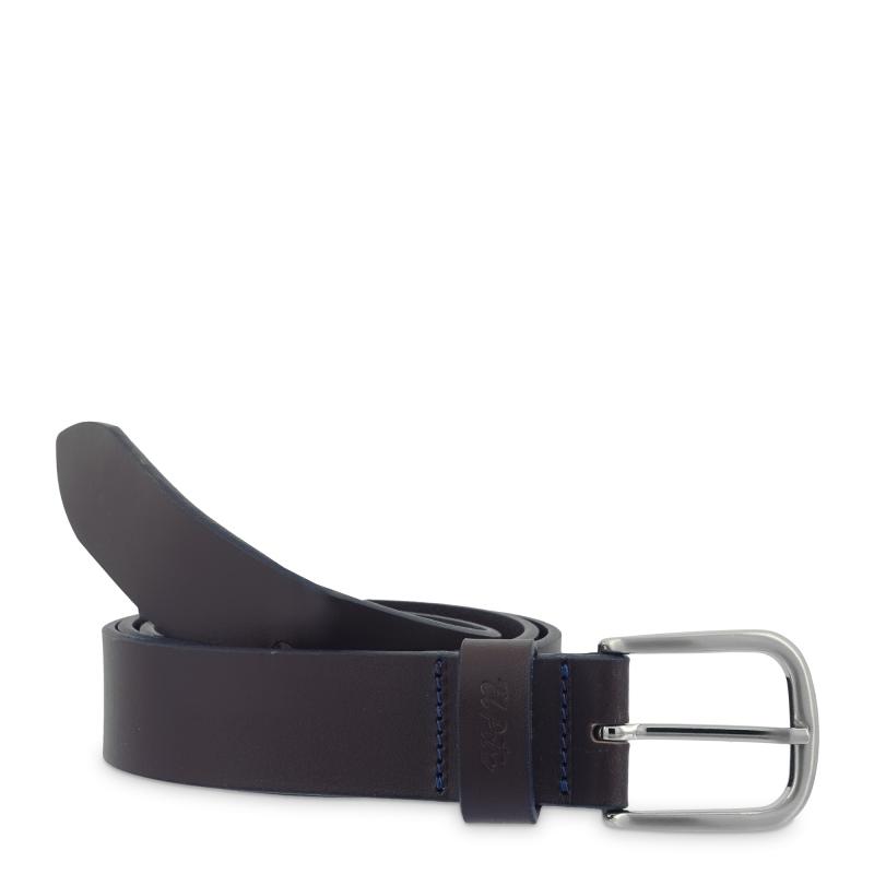 Cinturón sport hombre en piel vacuno color marrón - Box