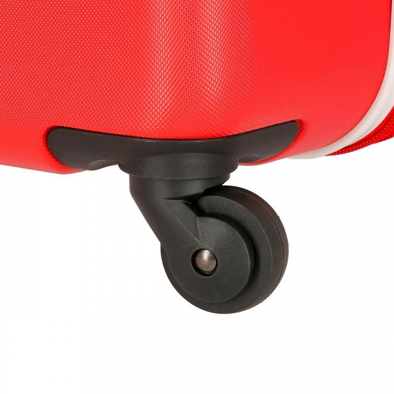 Maleta grande EL POTRO Batran rígida 69cm roja