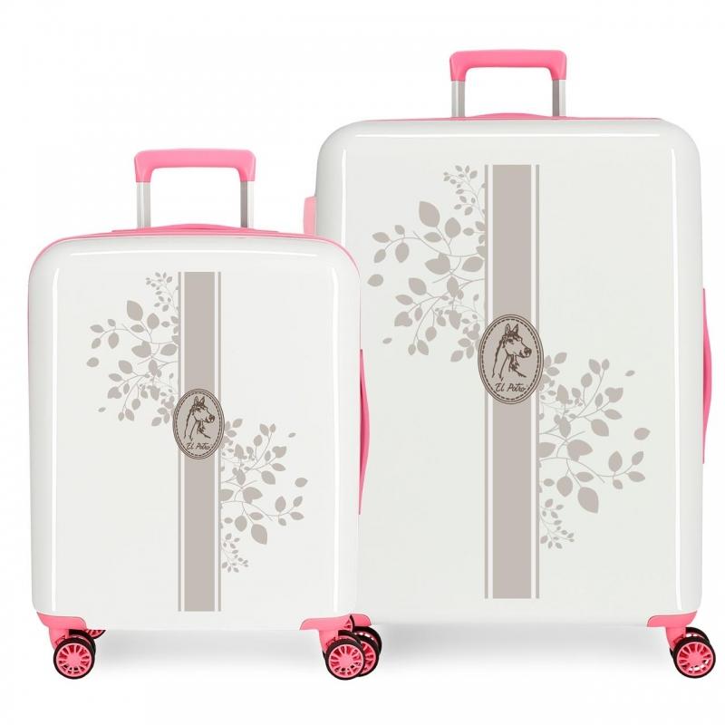 Juego de 2 maleta El Potro Galan Vanner rígida 55-70 cm Teke