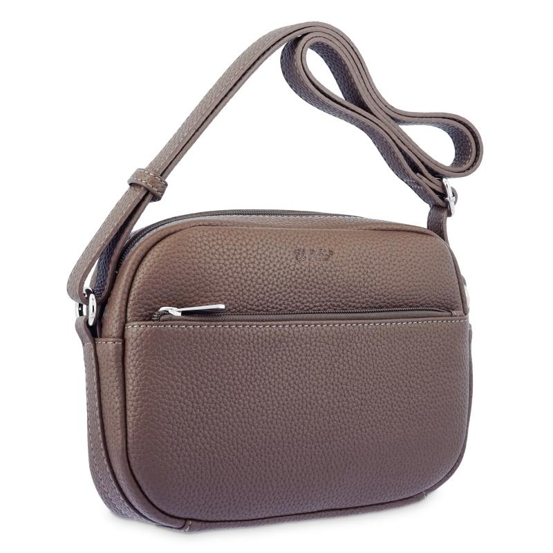 Bolso bandolera  de El Potro color marrón-Siena